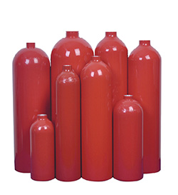 Aluninum CO2 Extinguisher Cylinders